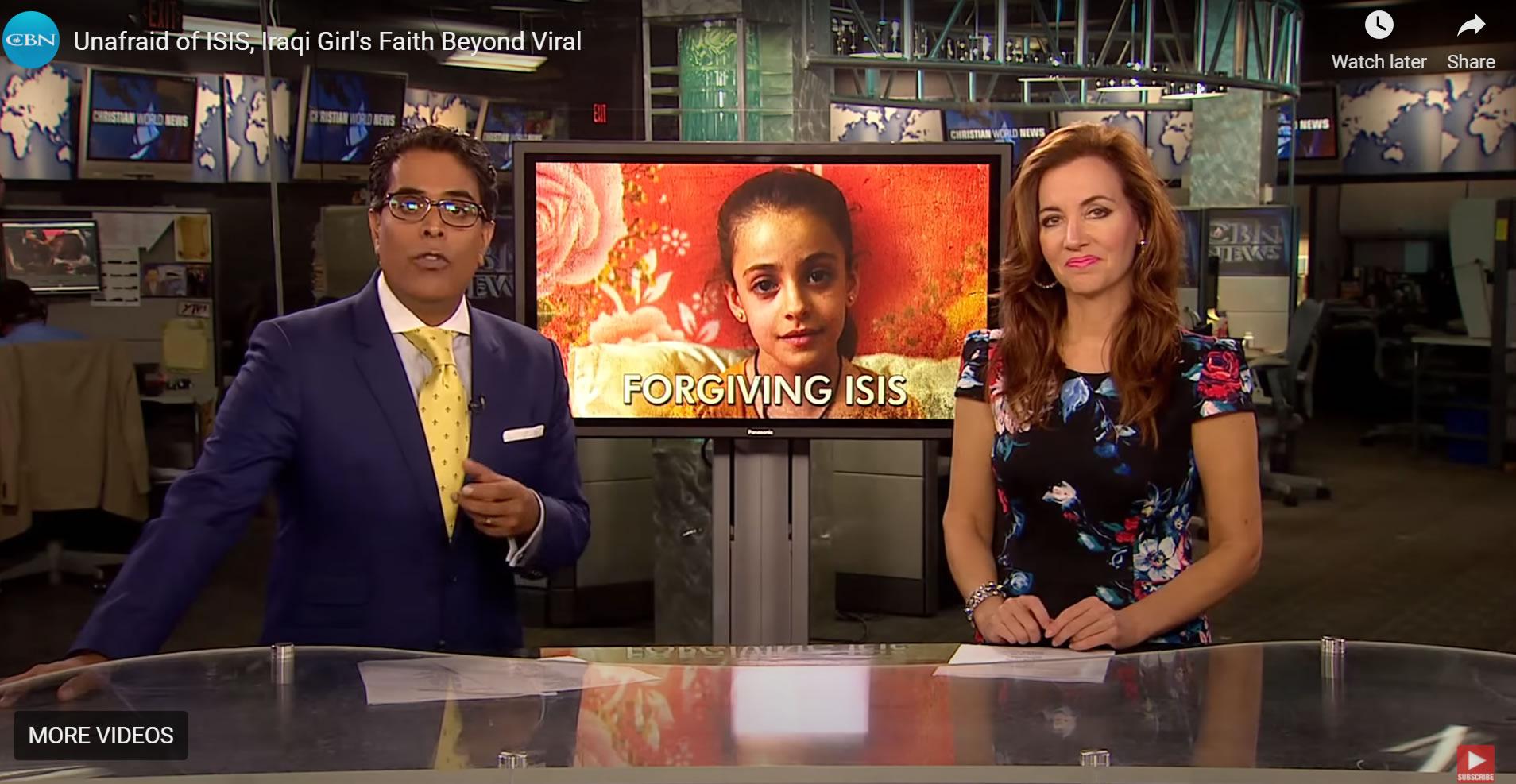 Girl forgives ISIS
